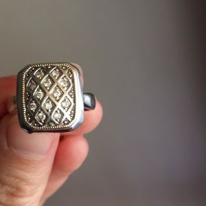 Jewelry - Sterling 925 ring size 7-8
